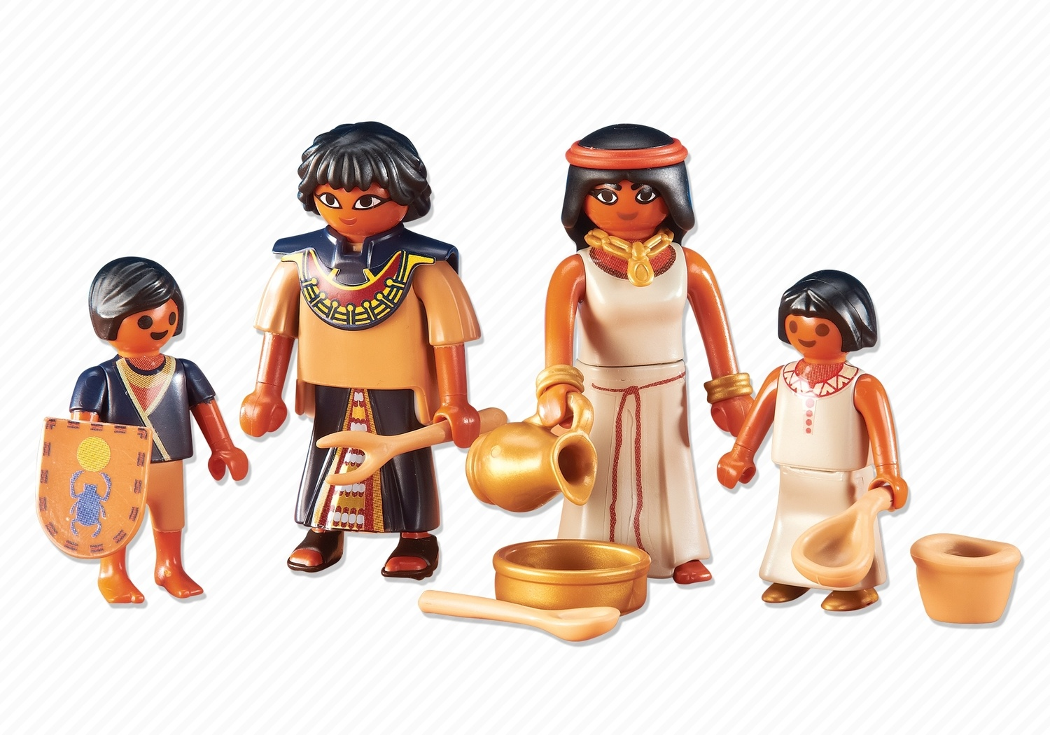 Playmobil Add On #6492 Egyptian Family - New Factory Sealed