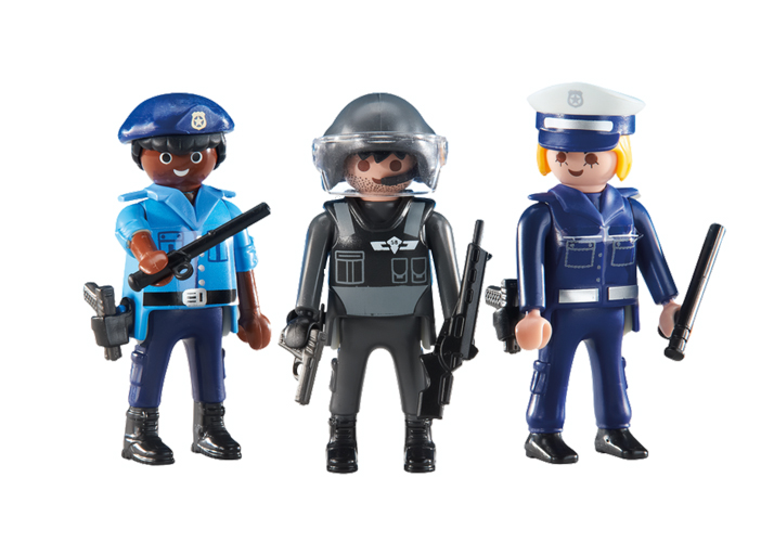 Playmobil Add On #6501 3 Police Officers - New Factory Sealed