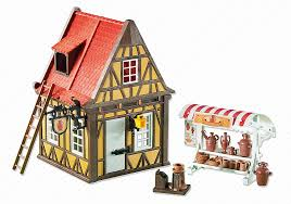 Playmobil Add On #6524 Medieval Pottery Shop - New Factory Sealed