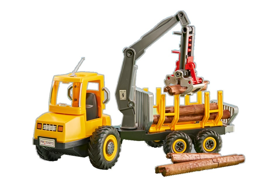 Playmobil Add On #6538 Timber Transporter - New Factory Sealed