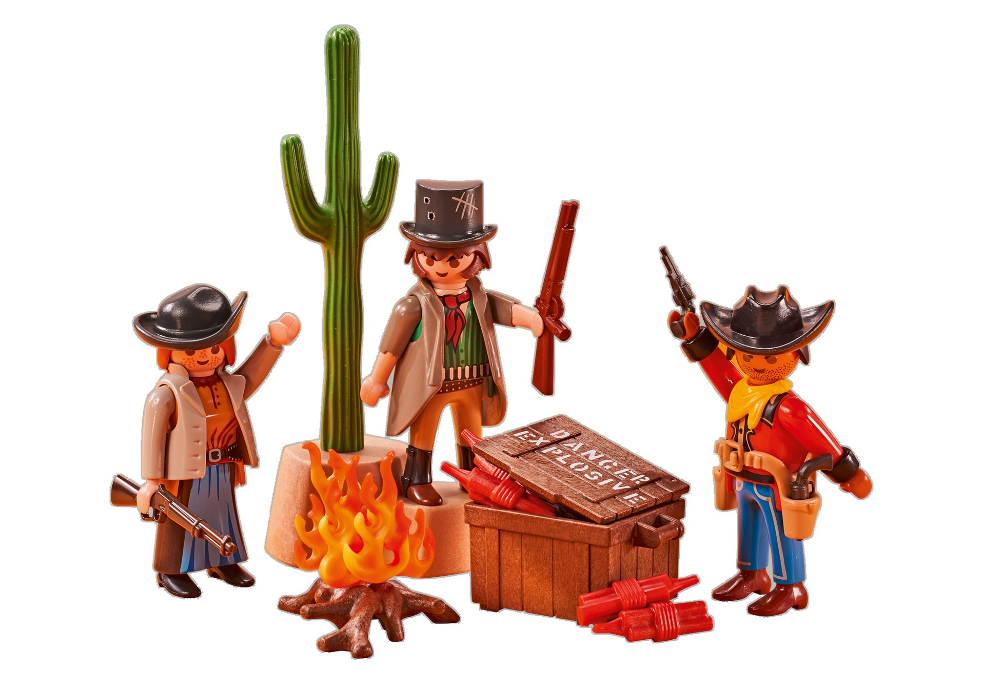 Playmobil Add On #6546 Western Bandits - New Factory Sealed - Click Image to Close