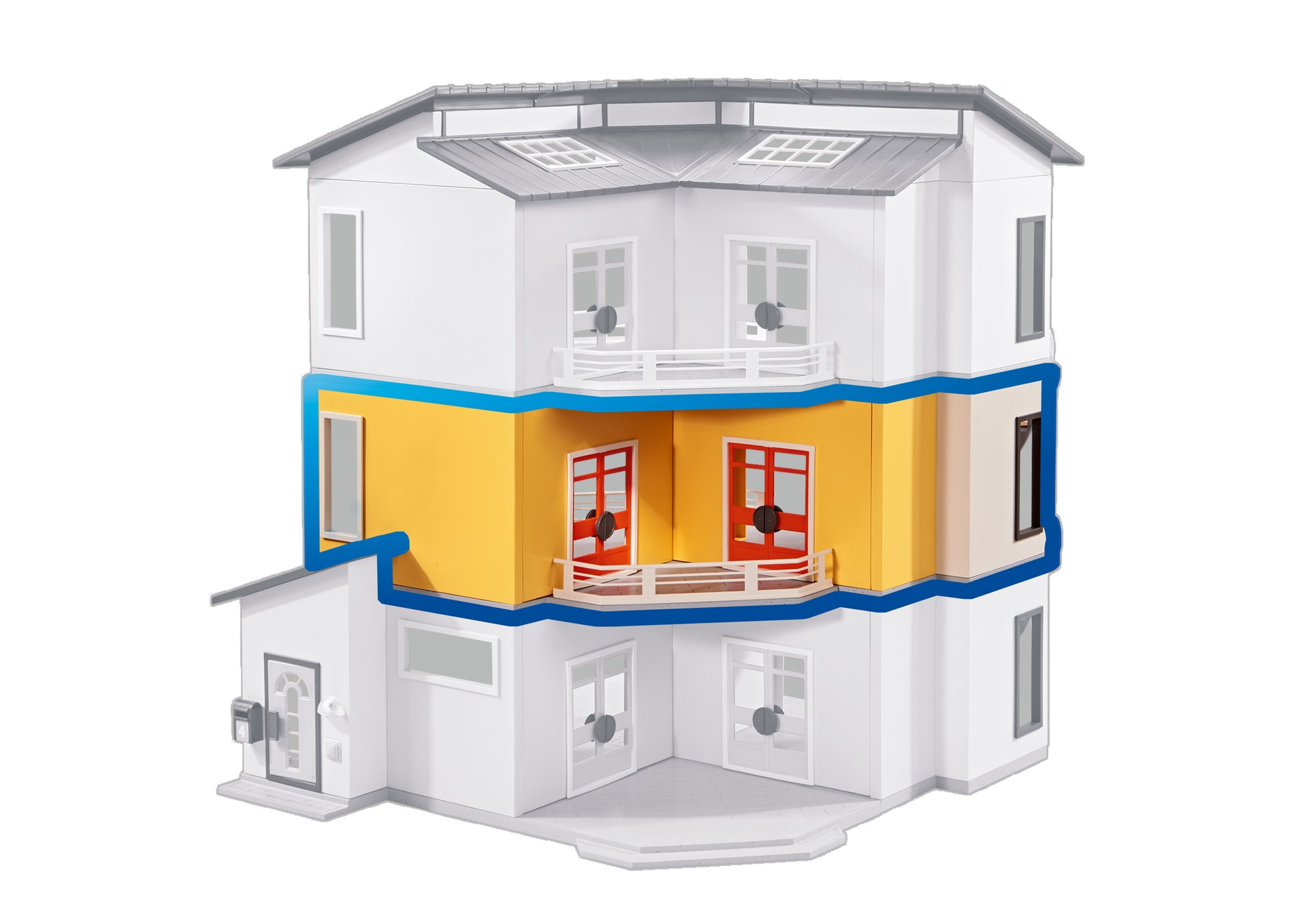 Playmobil Add On #6554 Floor Extension for Modern House - New Factory Sealed
