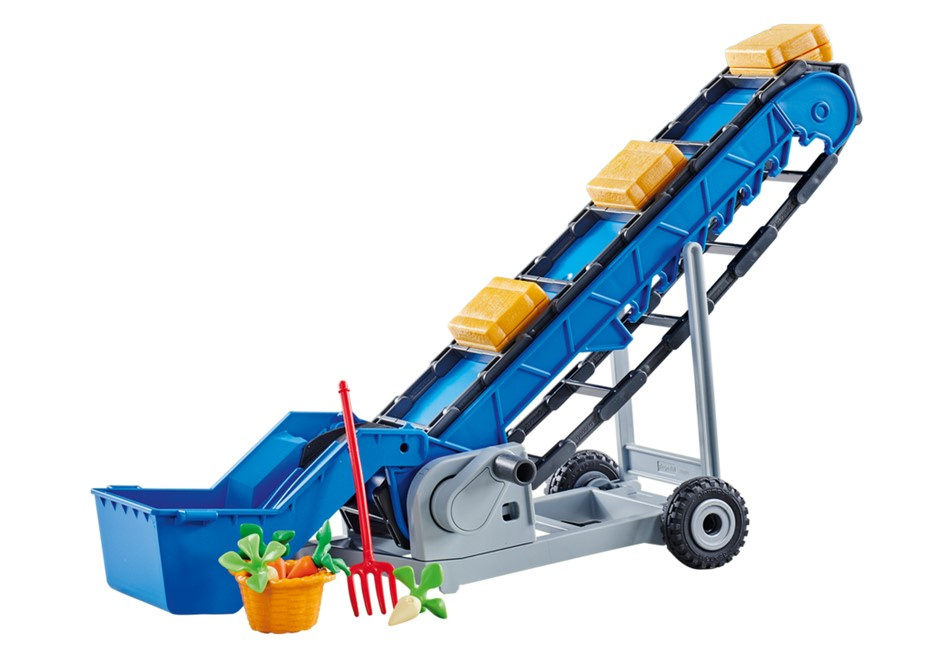 Playmobil Add On #6576 Mobile Conveyor Belt - New Factory Sealed