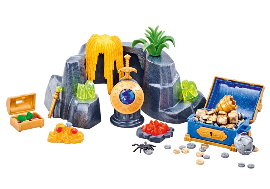 Playmobil Add On #6594 Large Treasure Rock Hideout - New Factory Sealed