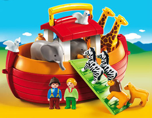 Playmobil #6765 My Take Along Noah's Ark 1.2.3