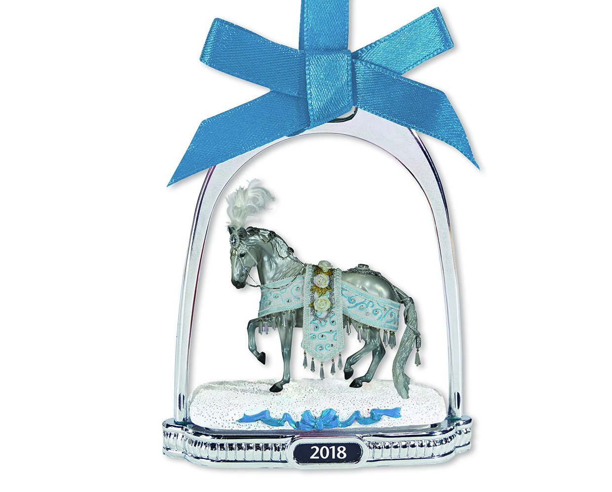 Breyer Holiday Collection #700319 Holiday Horse Stirrup Ornament - New Factory Sealed