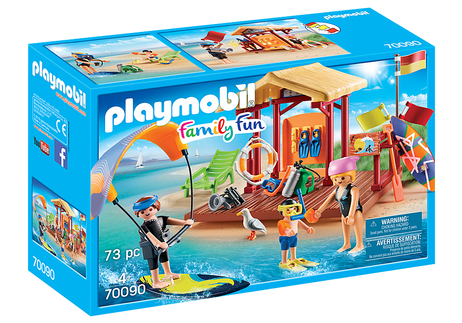 PLAYMOBIL #70090 Water Sports Lesson Brand New!