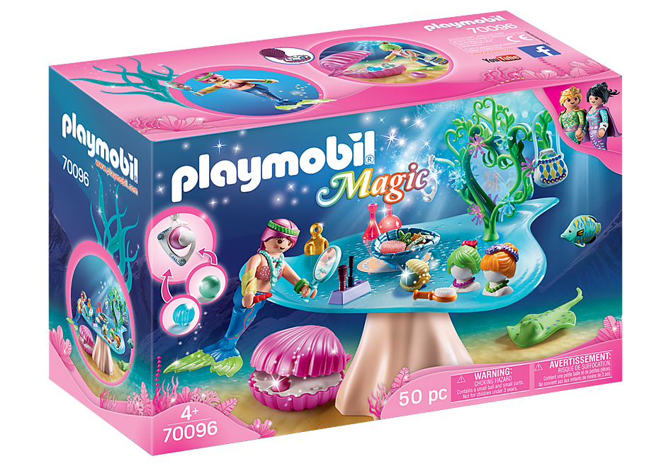 Playmobil #70096 Beauty Salon with Jewel Case - New Factory Sealed