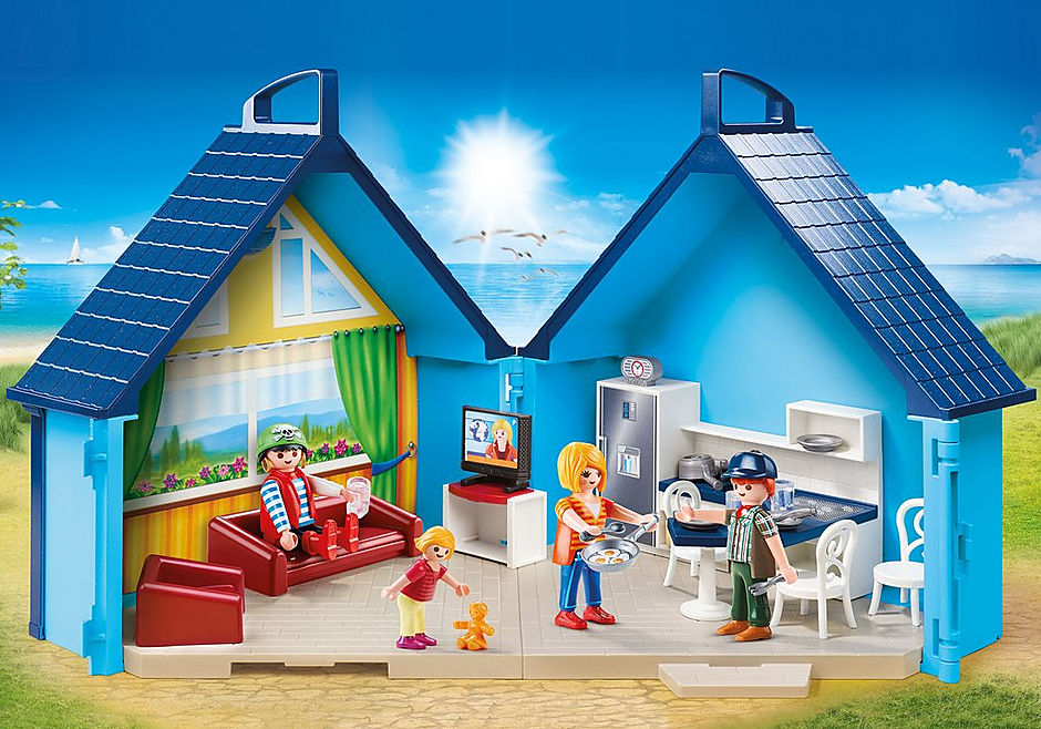 PLAYMOBIL Add On #70219 My Funpark Take Along Vacation New