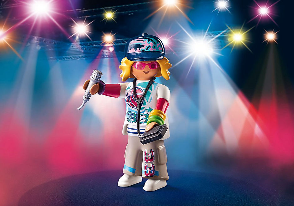 Playmobil #70237 Playmo-friends Rapper - New Factory Sealed