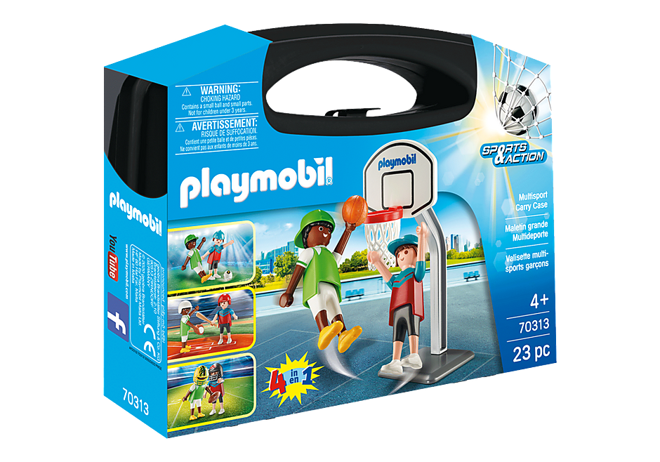 Playmobil #70313 Multisport Carry Case - New Factory Sealed