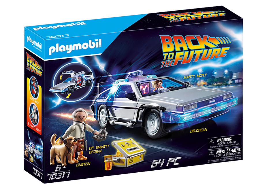 PLAYMOBIL #70317 Back to Future Delorean NEW 2020!
