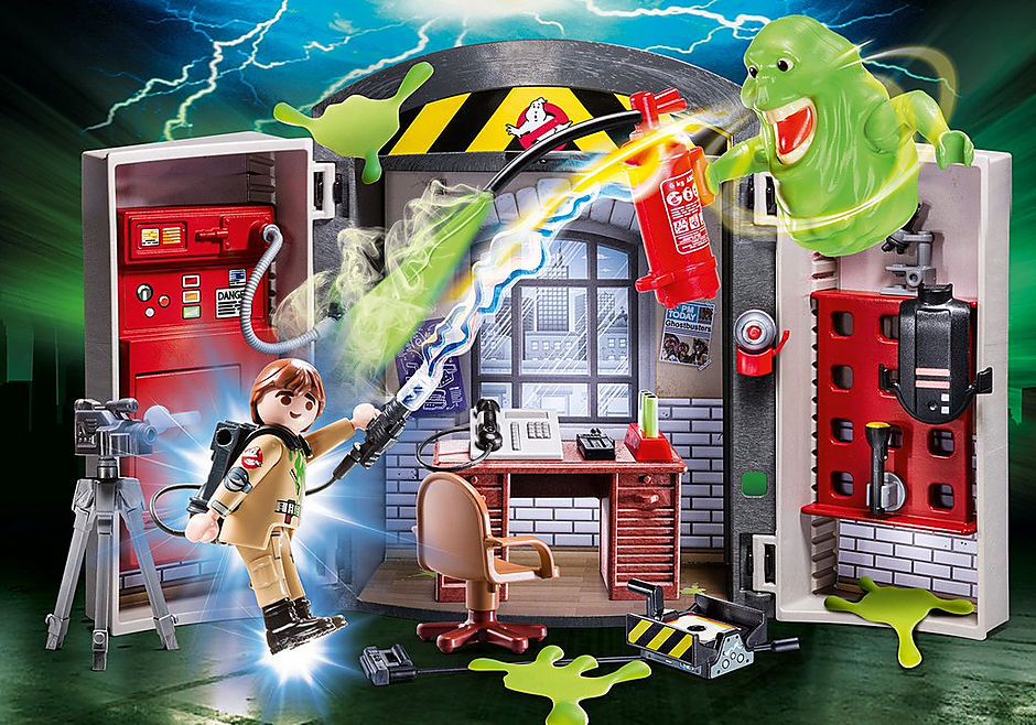 PLAYMOBIL #70318 Ghostbusters Play Box NEW!