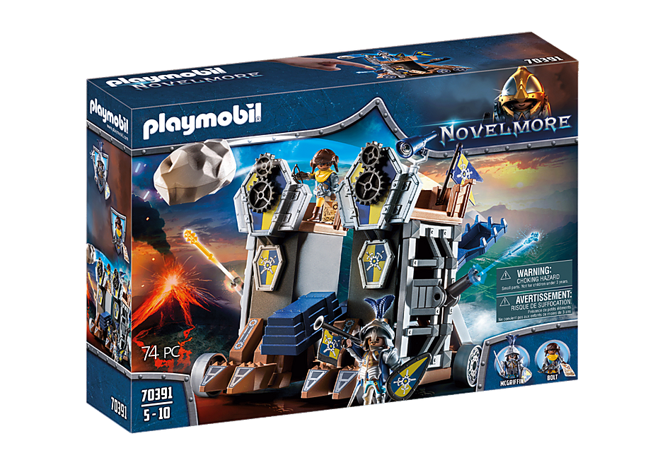 PLAYMOBIL #70391 Novelmore Mobile Fortress NEW!