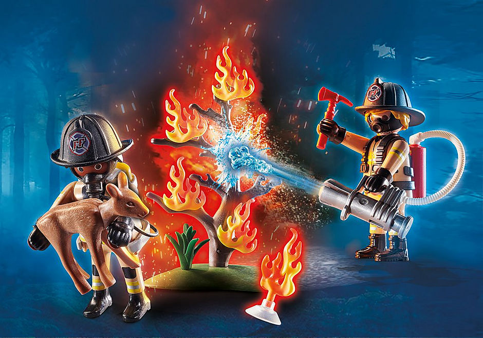 PLAYMOBIL #70488 Forest Fire Squad NEW!
