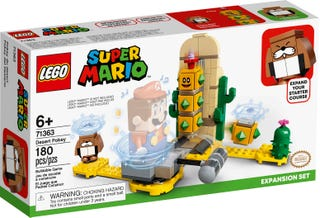 LEGO SUPER MARIO #71363 Desert Pokey Expansion Set- New, Factory Sealed!
