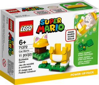 LEGO SUPER MARIO #71372 Cat Mario Power-Up Packs- New, Factory Sealed!