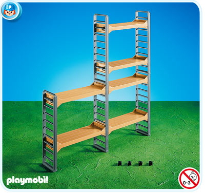 Playmobil Add On #7333 Scaffold -New-Factory Sealed!