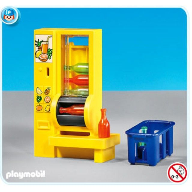 Playmobil Add On #7931 RETIRED Vending Machine - New factory Sealed