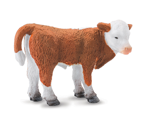 BREYER CORRAL PALS HEREFORD CALF #88236