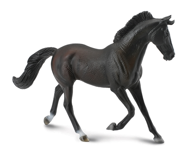 BREYER CORRAL PALS BLACK THOROUGHBRED MARE #88478