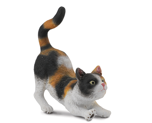 BREYER CORRAL PALS HOUSE CAT #88491 - Click Image to Close