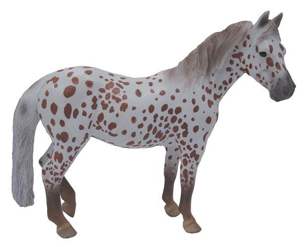 BREYER CollectA #88750 Chestnut Leopard British Spotted Pony Mare- New!