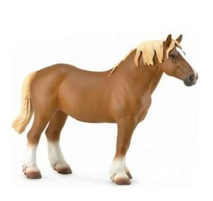 BREYER CollectA #88819 Chestnut Belgian Mare- New!