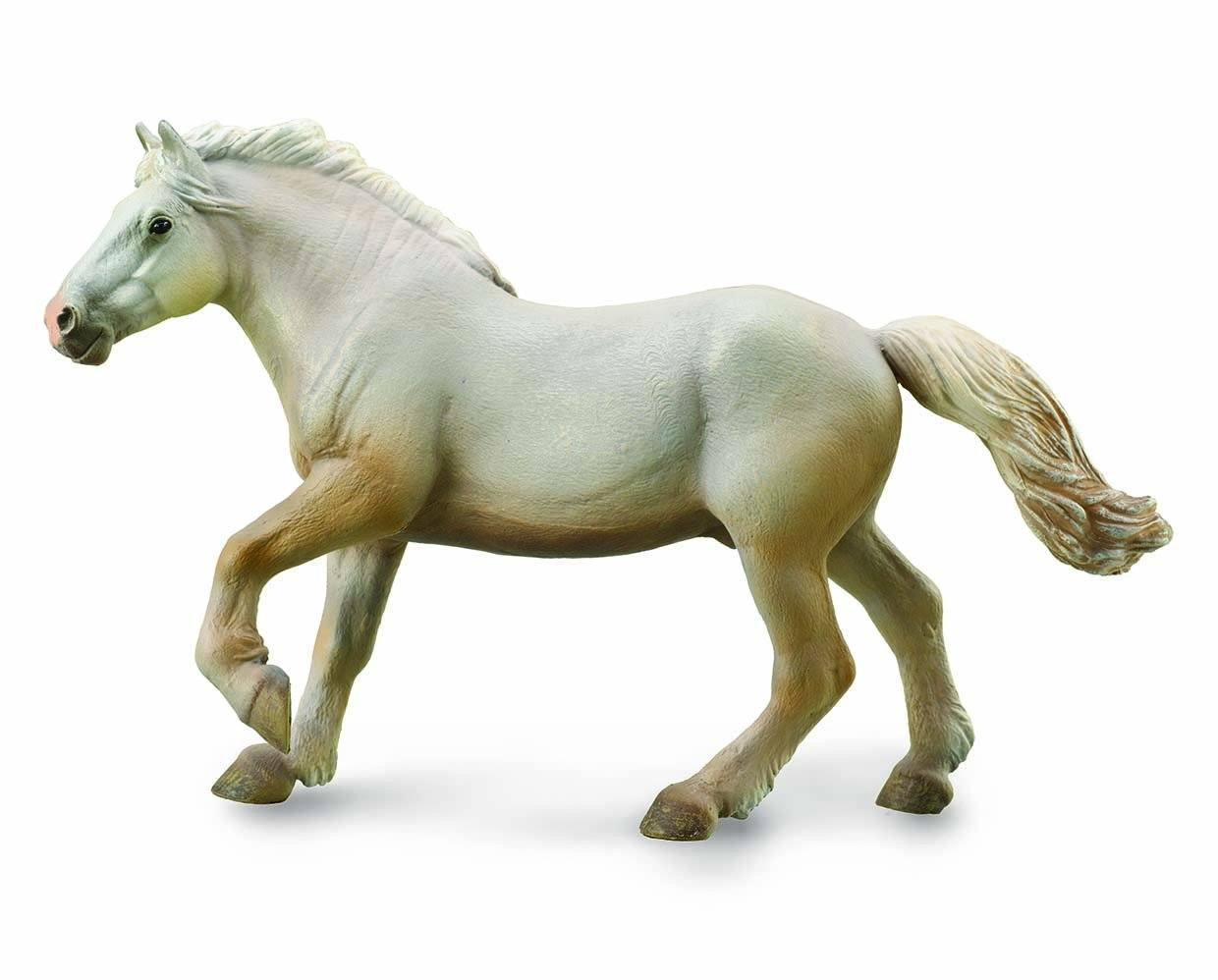 BREYER CORRAL PALS AMERICAN CREAM DRAFT STALLION #88846