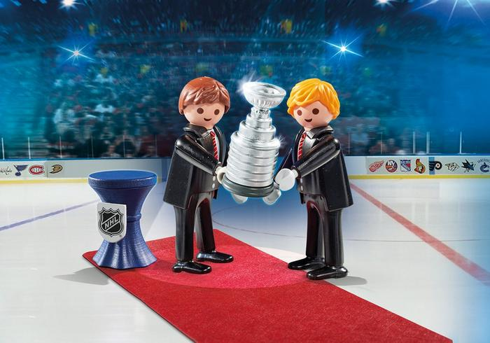 Playmobil #9015 Stanley Cup Presentation - New factory Sealed