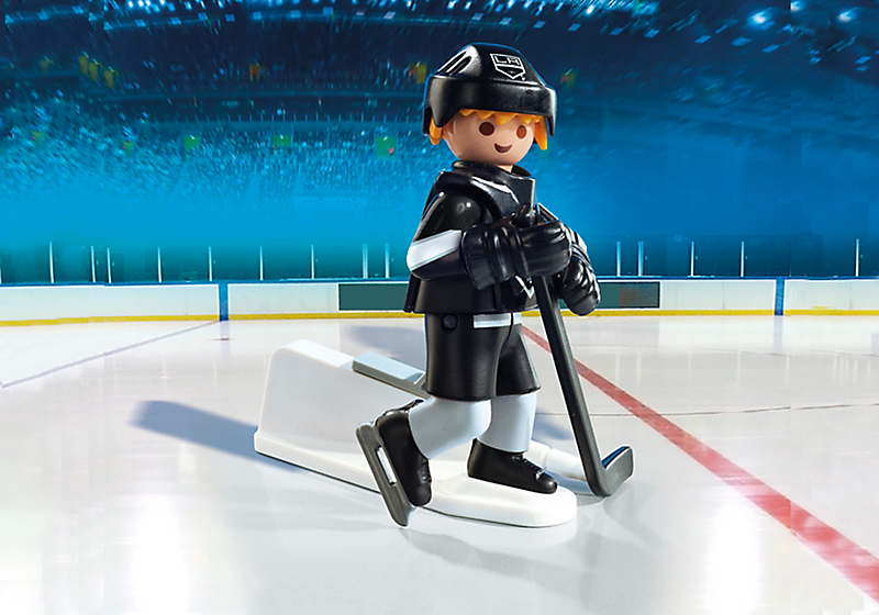 Playmobil #9031 NHL LA Kings Player - New Factory Sealed