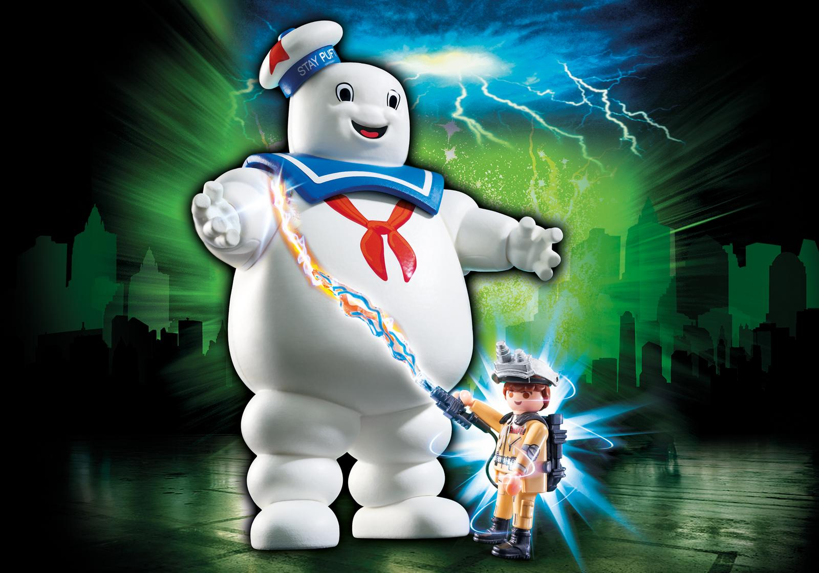 PLAYMOBIL GHOSTBUSTERS #9221 Stay Puft Marshmallow Man - New Factory Sealed