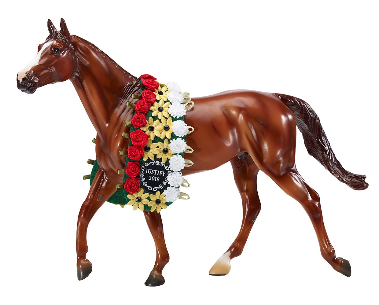 Breyer Traditional Horse #9300 Justify - Triple Crown Winner - New Factory Sealed