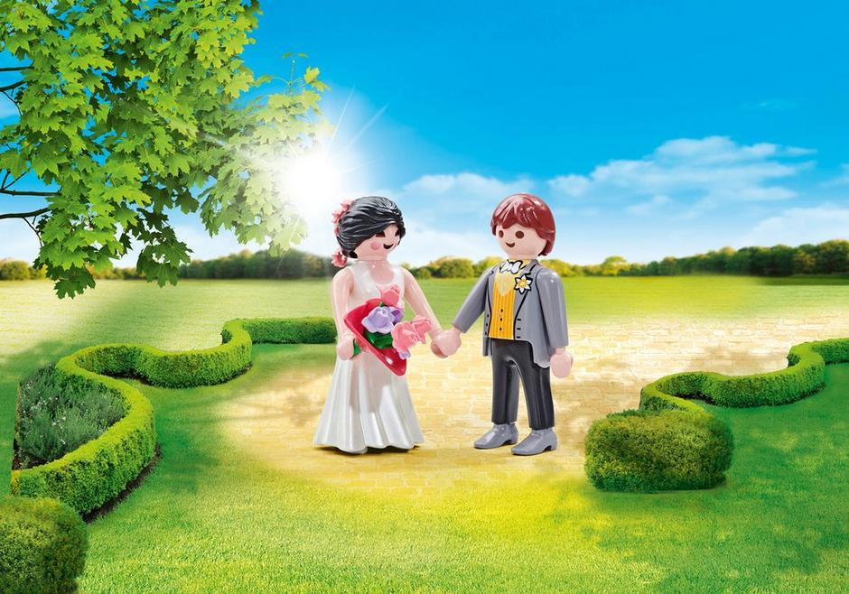Playmobil Add On #9820 Bridal Couple - New Factory Sealed