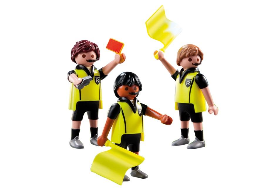 Playmobil Add On #9824 Referees - New Factory Sealed