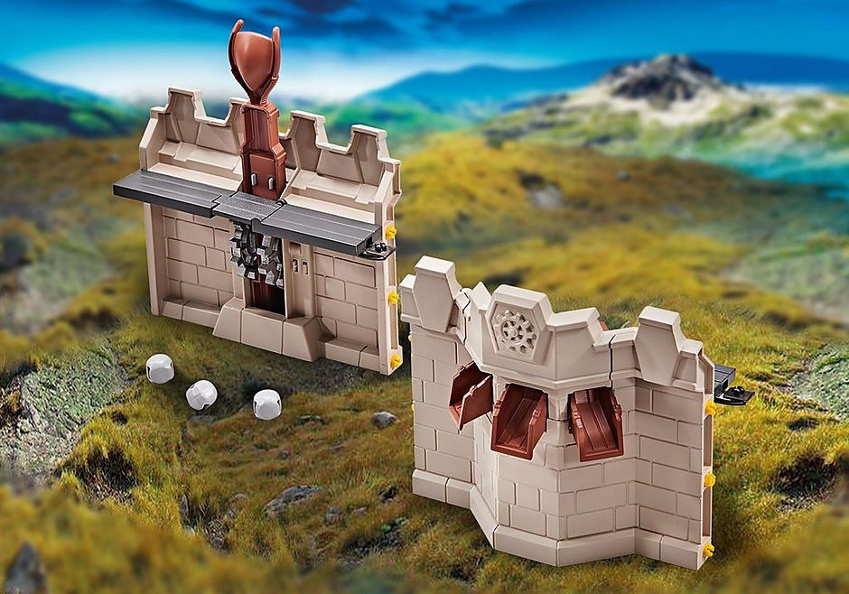 Playmobil Add On #9839 Wall Extention for Grand Castle of Novelmore