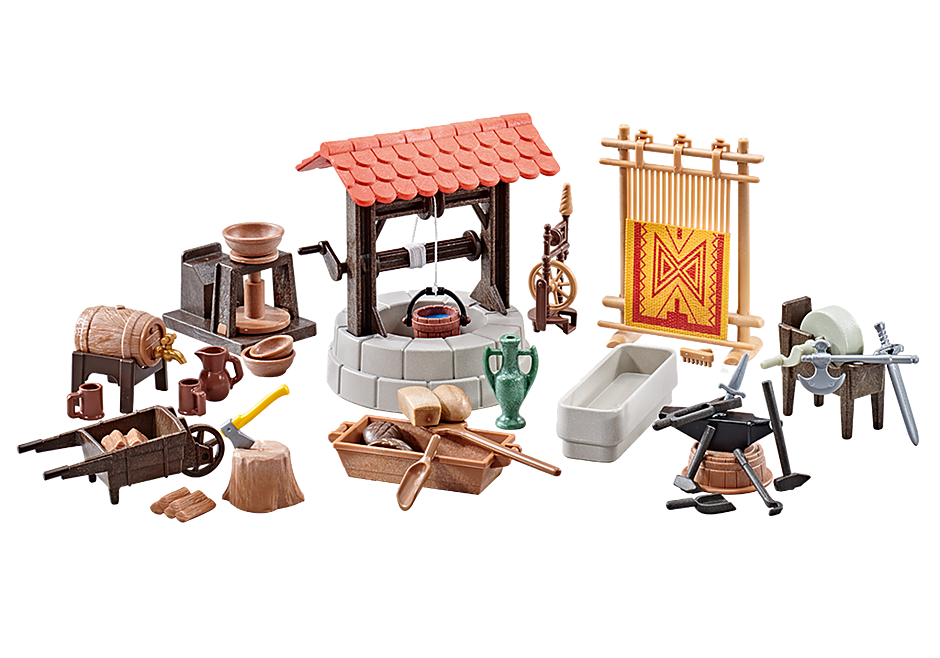 Playmobil Add On #9842 Medieval Village Accessories New Sealed