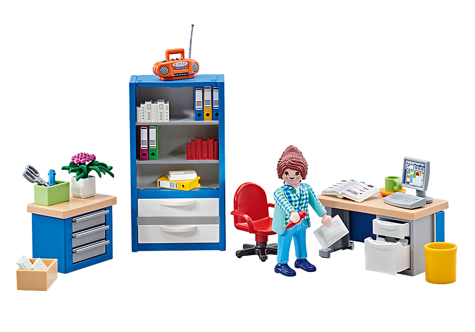 Playmobil Add On #9850 Office Furniture New Sealed