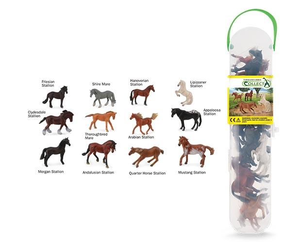 Breyer by CollectA Box of Mini Horses - New Factory Sealed