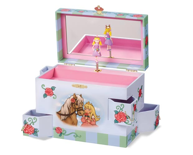 Breyer Enchantmints #B2703 Rose Petal Princess Jewelry Box - New Factory Sealed