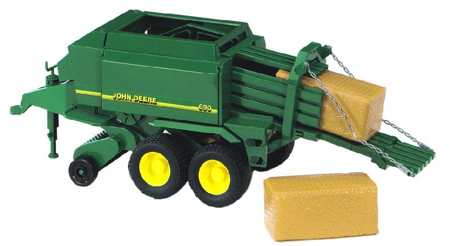 Bruder #09800 John Deere Big Bale Press - New Factory Sealed #9800 [09800]