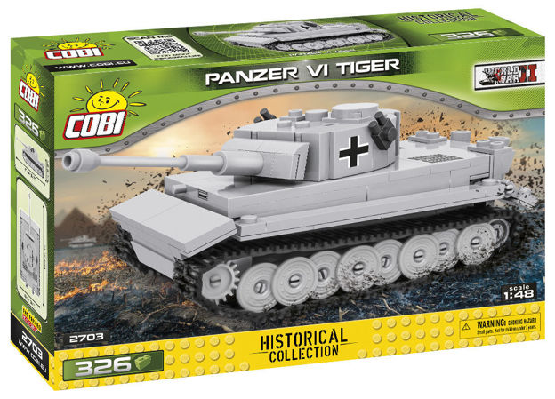 COBI TOYS #2703 Panzer VI Tiger WWII Tank- New Factory Sealed!