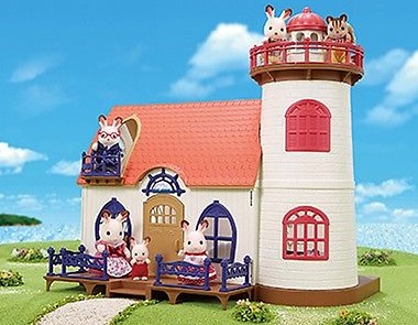 CALICO CRITTERS #CC1743 Starry Point Lighthouse - New Factory Sealed