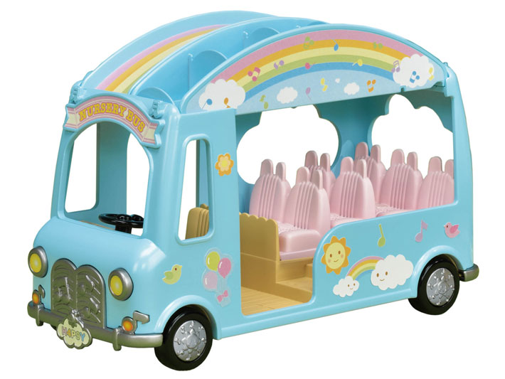 CALICO CRITTERS #CC1790 Sunshine Nursery Bus - New Factory Sealed