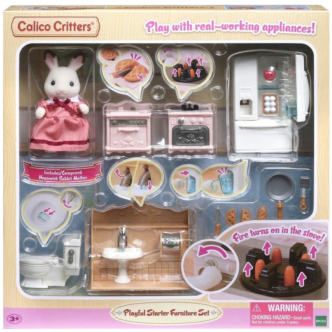 CALICO CRITTERS #1882 Playful Starter Furniture Set