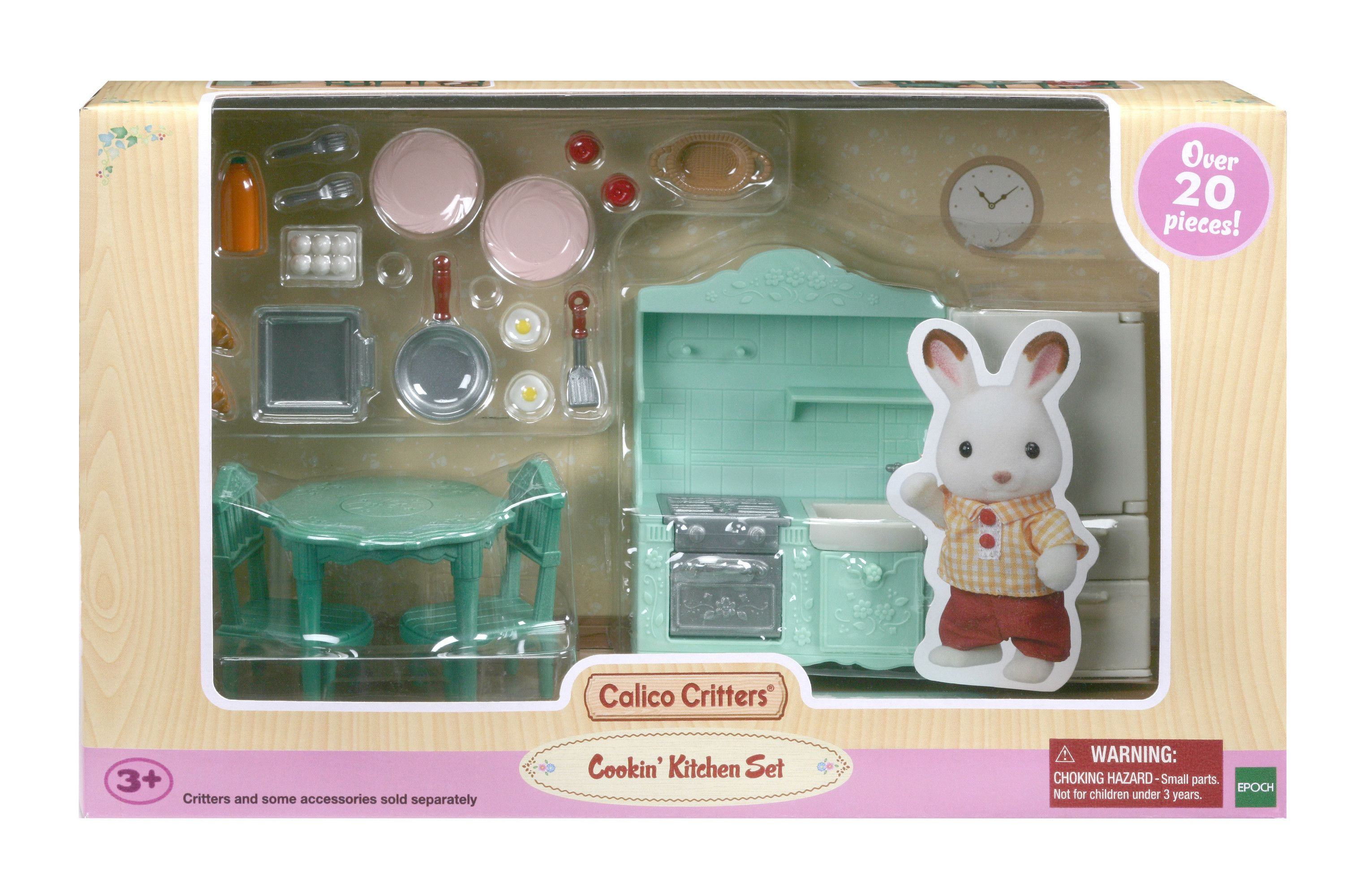 CALICO CRITTERS #1896 Cookin Kitchen NEW!