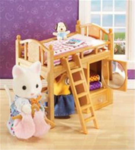 CALICO CRITTERS #CC2618 Sister's Loft Bed - New Factory Sealed