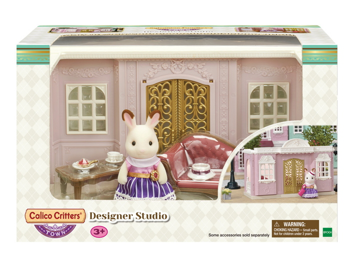 CALICO CRITTERS #CC3013 Designer Studio - New Factory Sealed