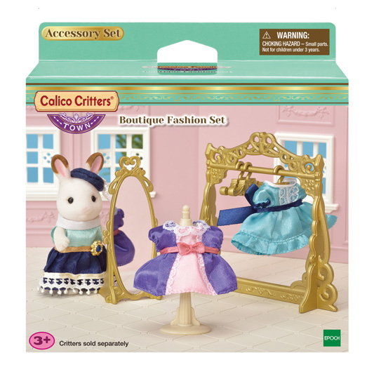 CALICO CRITTERS #CC3018 Boutique Fashion Set - New Factory Sealed