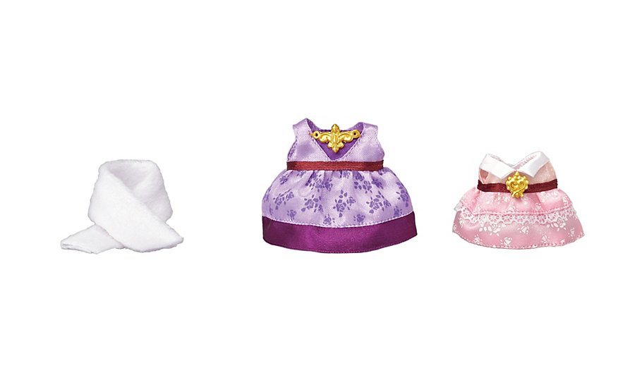 CALICO CRITTERS #CC3030 Dress Up Purple and Pink - New Factory Sealed